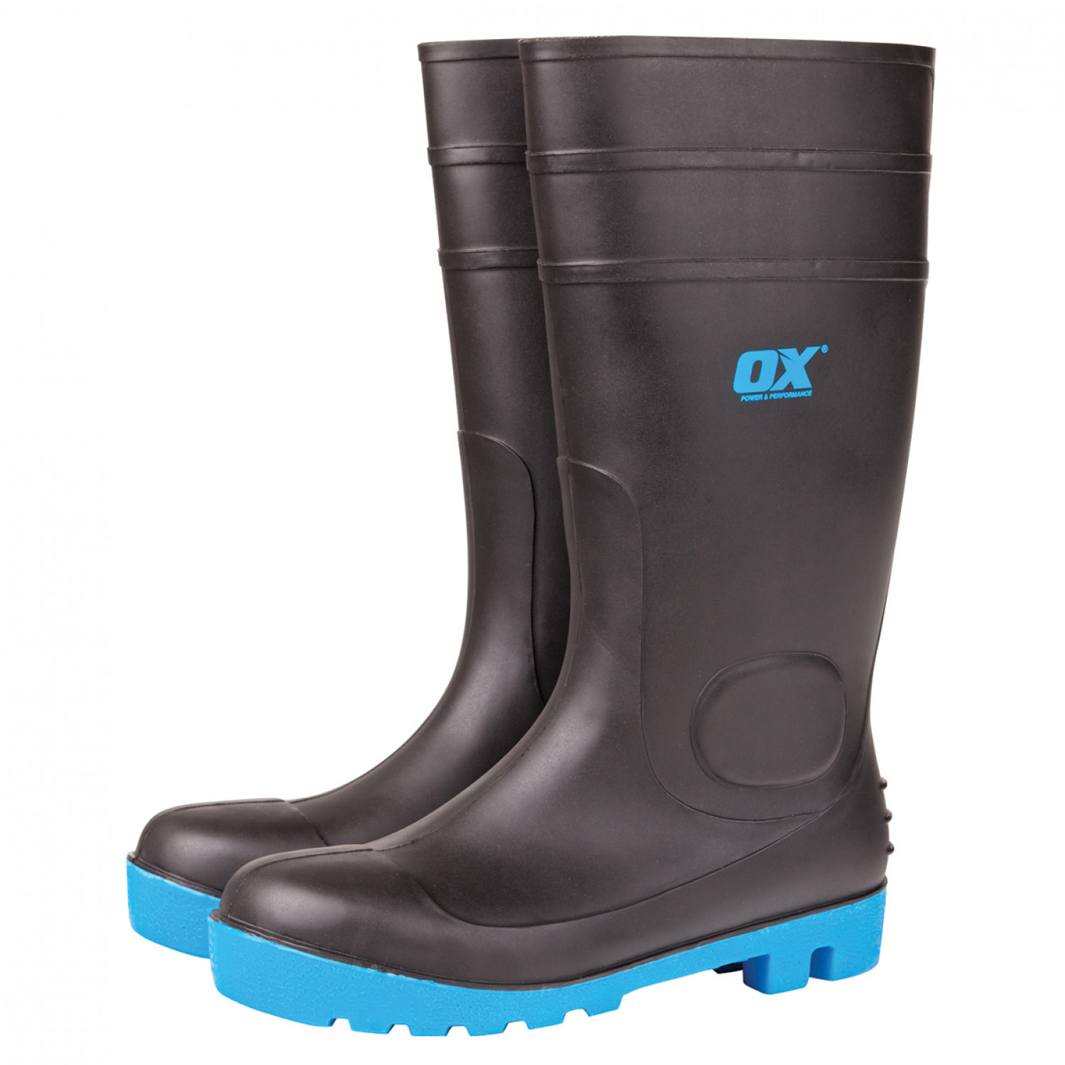 45ac85570a3cb1 OX Safety Wellington Boot – Size 8 – Phoenix Hire and Sales Ltd